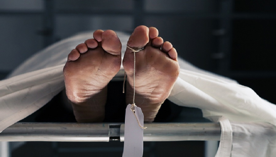 Police said Sauvik Sama Mal, 36, was found lying on the floor near his bed in his flat on Suren Sarkar Road.