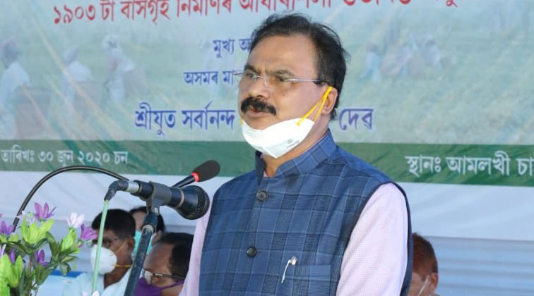 Assam industries minister Chandramohan Patowary