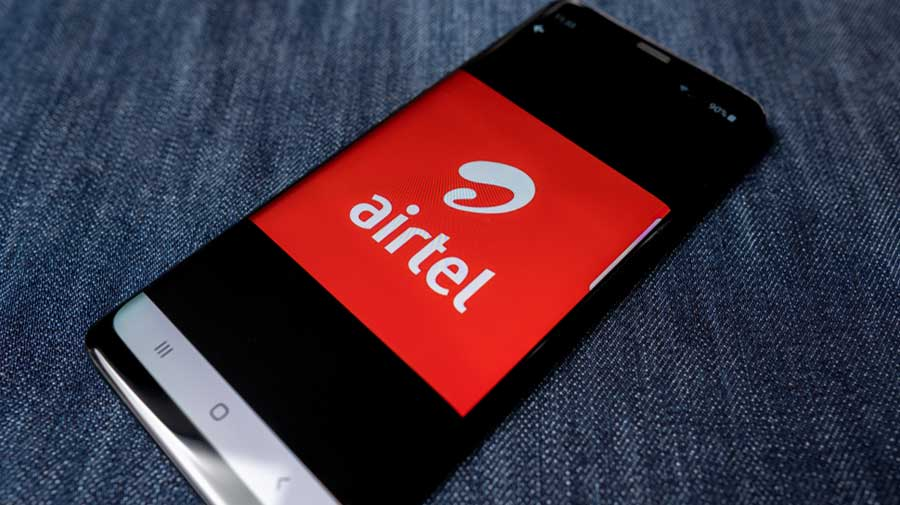 Shares of Bharti Airtel were rangebound as it ended at Rs 559.80 in the BSE.
