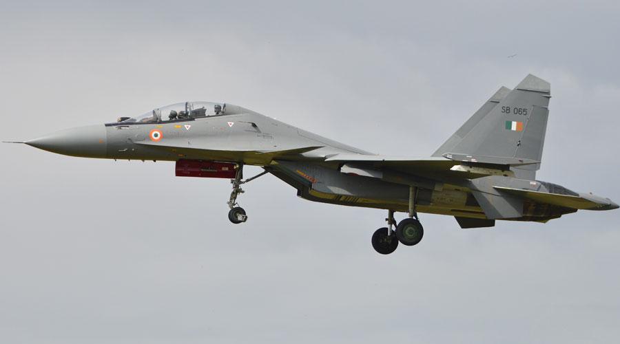 Su-30 MKI aircraft.