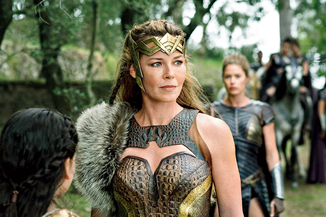 Connie Nielsen as Hippolyta in Wonder Woman