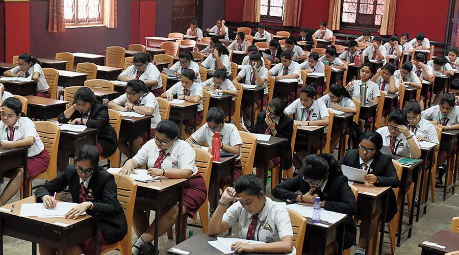 The distribution of ISC mark sheets was to start on Friday but has got delayed because of Thursday's lockdown, schools said.