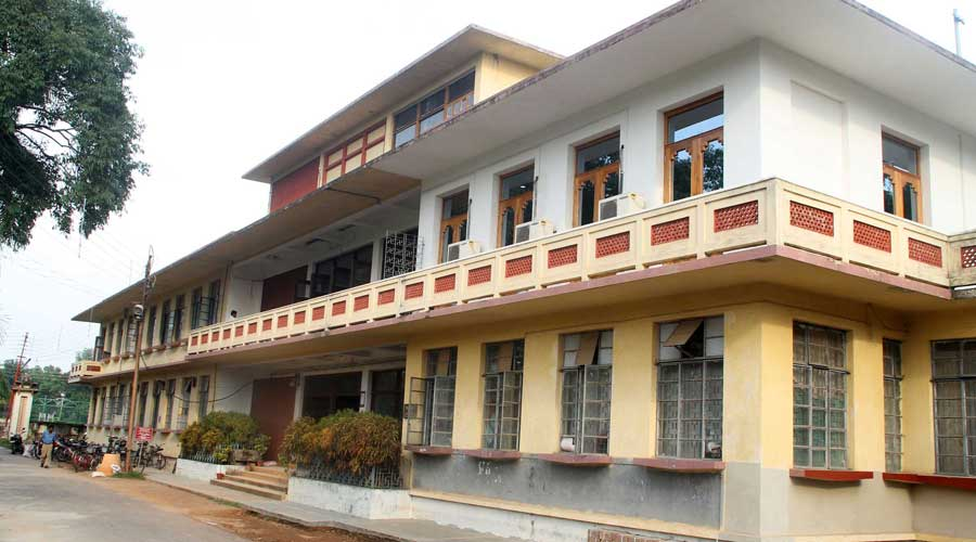 Central office, Visva-Bharati, in Santiniketan