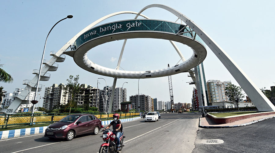 Biswa Bangla Gate in New Town