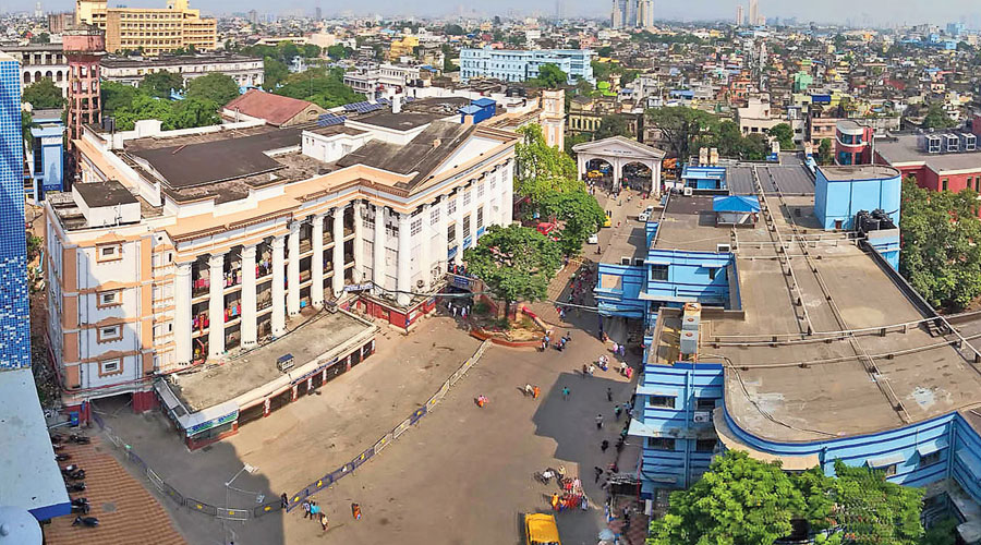 Calcutta Medical College and Hospital.