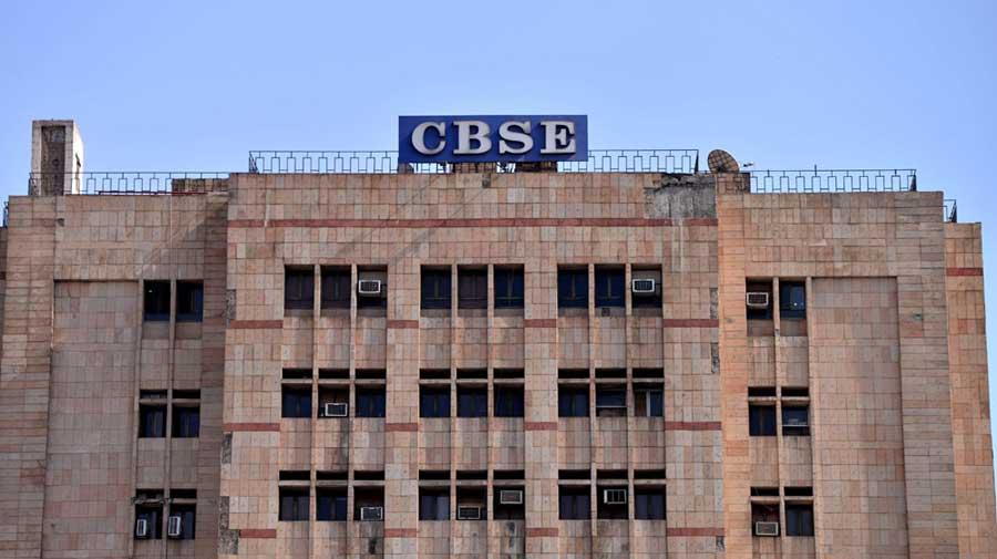 CBSE office at Preet Vihar in New Delhi.