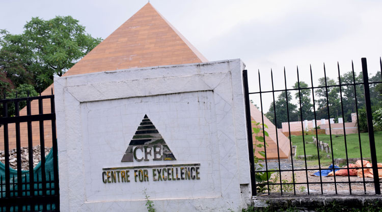 The Centre for Excellence at Bistupur, Jamshedpur, which houses CII's Jamshedpur zonal office