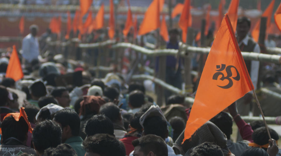 Project Hindutva is being arduously connected to caste, class and religious formations.