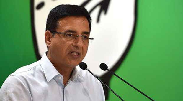 Congress communications chief Randeep Surjewala