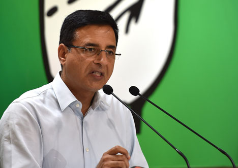 Congress leader Randeep Singh Surjewala has demanded an FIR be lodged in the case