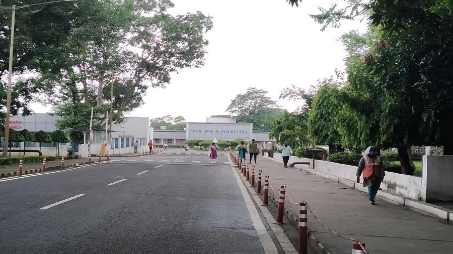 Tata Main Hospital in Bistupur on Sunday