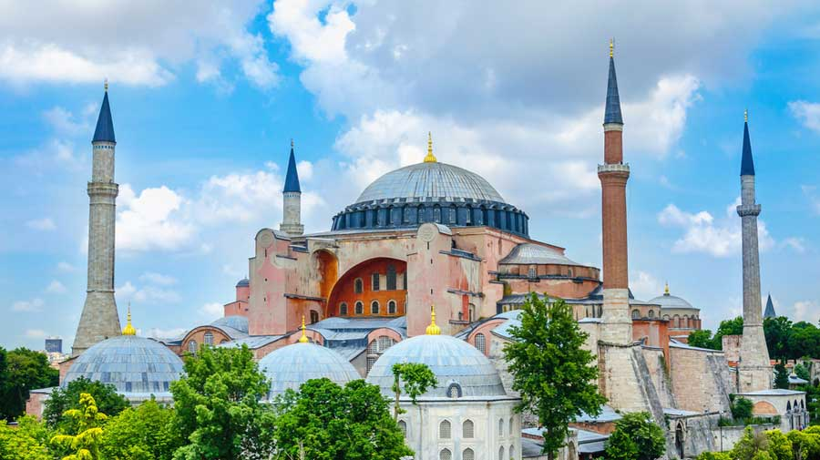 Erdogan said the nearly 1,500-year-old Hagia Sophia would remain open to Muslims, Christians and foreigners.
