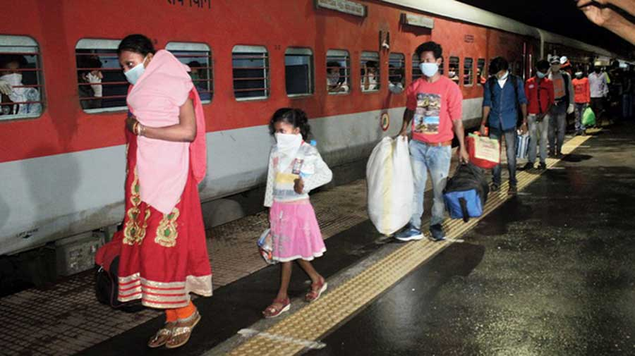 The government last month told the court that presently there are no demands for Shramik Special trains.