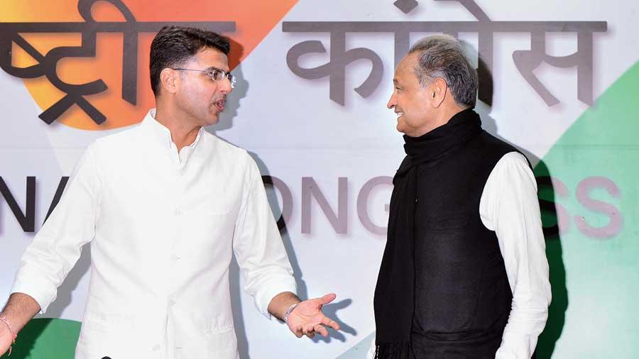 Sachin Pilot and Ashok Gehlot.