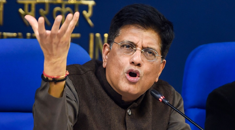 Union minister of commerce and industry Piyush Goyal