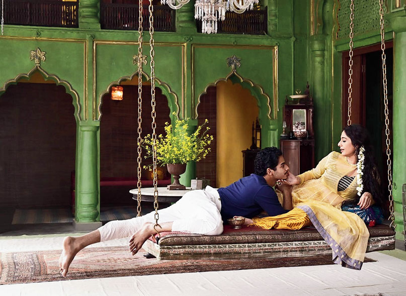Tabu and shaan Khatter from a scene in BBC's 'A Suitable Boy'.