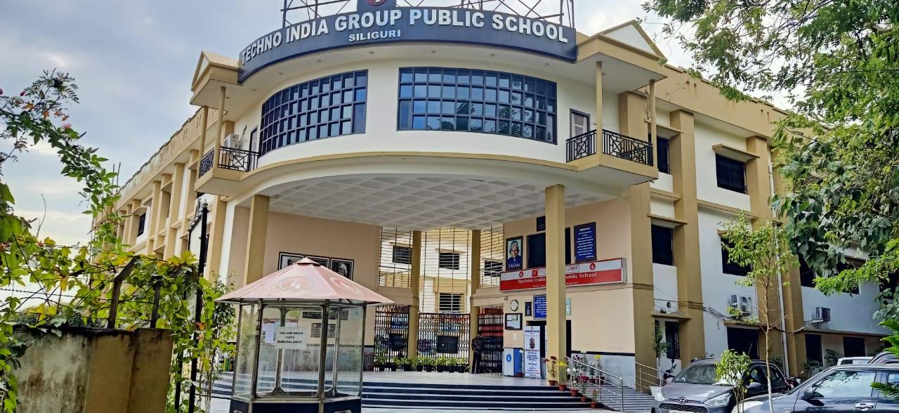 A view of Techno India Group Public School in Siliguri