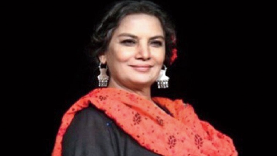 The funniest thing is that we have discovered how much we enjoy each other's company! That's a good thing after 36 years of marriage, right?!: Shabana Azmi
