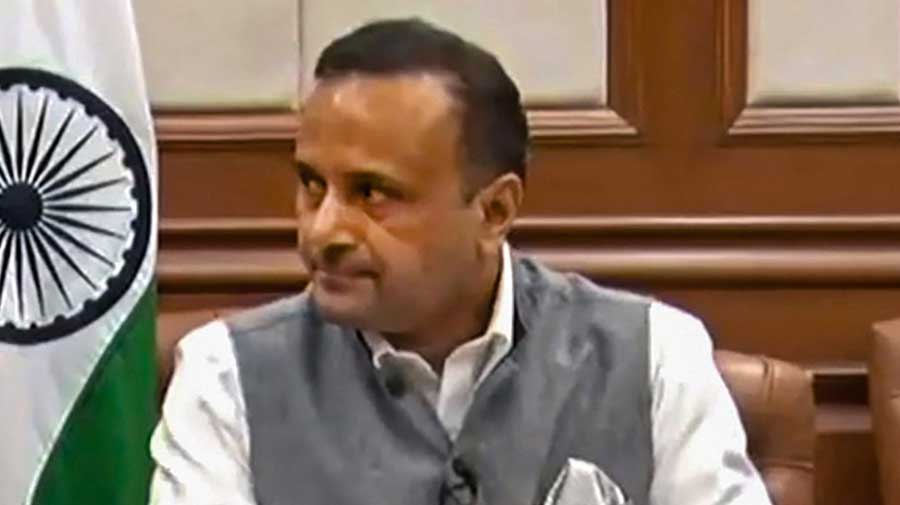 External affairs ministry spokesman Anurag Srivastava
