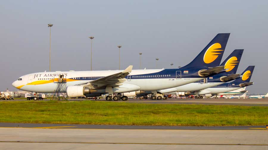 Jet Airways was in the news last month when Vrihis Properties emerged as a successful bidder for its Bandra Kurla Complex and the company 'decided' to accept the offer at Rs 490 crore.