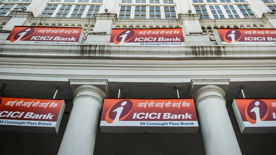 The bank made a net gain of Rs 3,036.29 crore after it  sold 3.96 per cent in ICICI Lombard General Insurance Company and 1.50 per cent in ICICI Prudential Life Insurance.