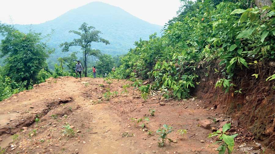 The road at Gangapur