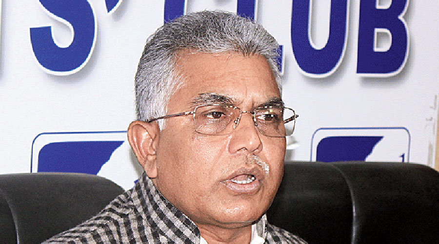 BJP leader Dilip Ghosh