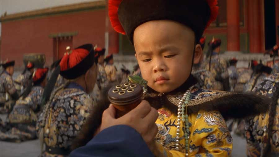 A scene from The Last Emperor. The Simla Conference was called while China was in deep chaos in the wake of the fall of the Qing dynasty, a tumultuous time well portrayed in the movie