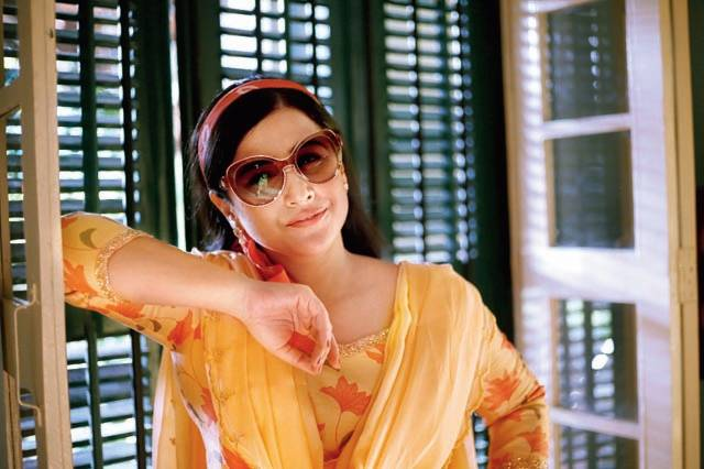 As Shakuntala Devi, Vidya Balan scripts a screen journey from her 20s to her 60s, which called for diverse looks