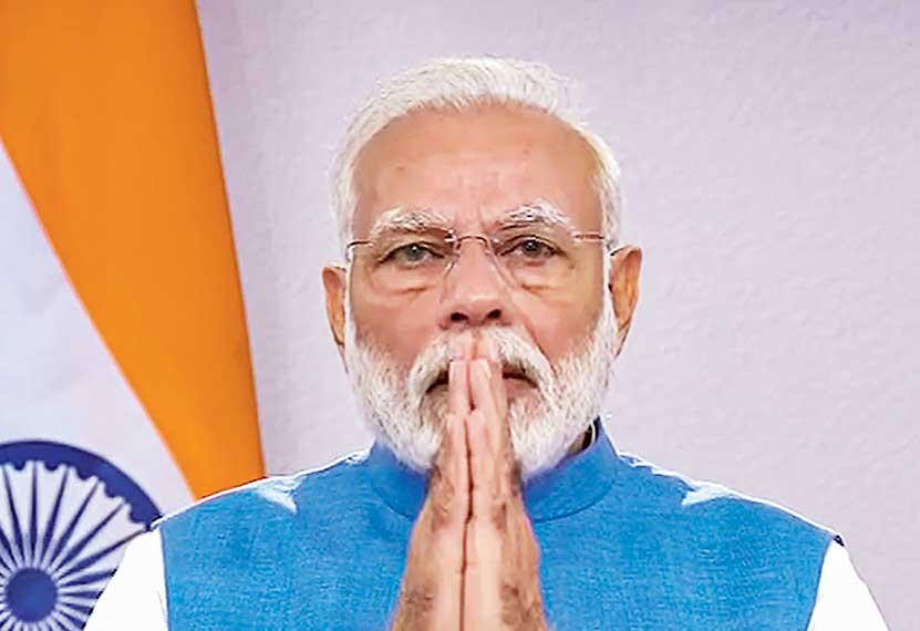 Highlighting Modi's donations to public causes, an officialonthe condition of anonymityrevealed that he gave Rs 21 lakh in 2019 from his personal savings to the corpus fund set up for the welfare of sanitation workers of Kumbh Mela.