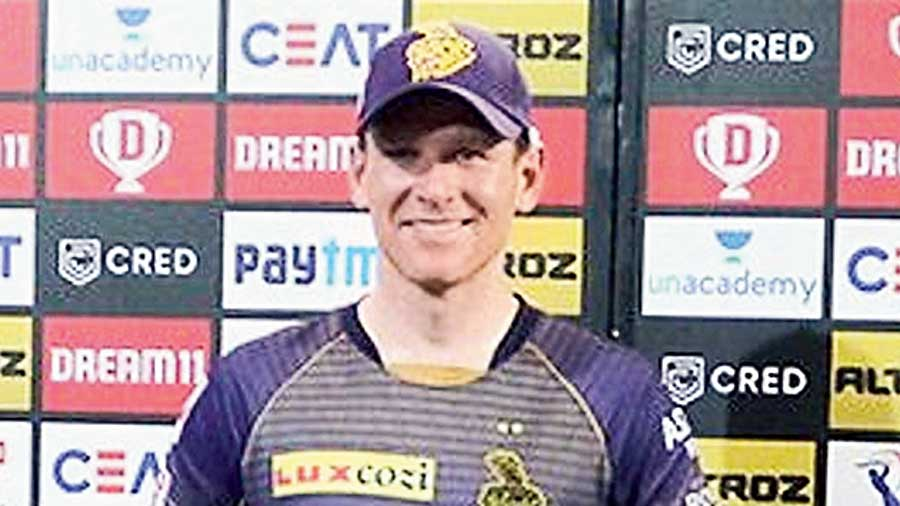 KKR captain Eoin Morgan