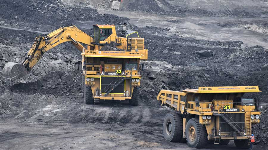 Mining sector output too witnessed a decline, shrinking 7.3 per cent. However, power generation grew 3.5 per cent in the month under review.