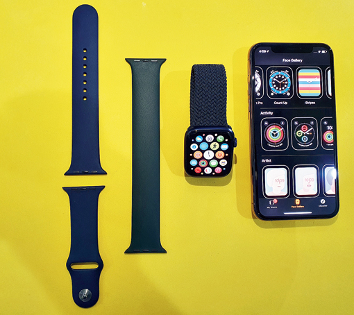 The Apple Watch Series 6 is the most versatile smartwatch in the market and can be considered more of a wellness device. Equally innovative is Apple's new Solo Loop watch band.