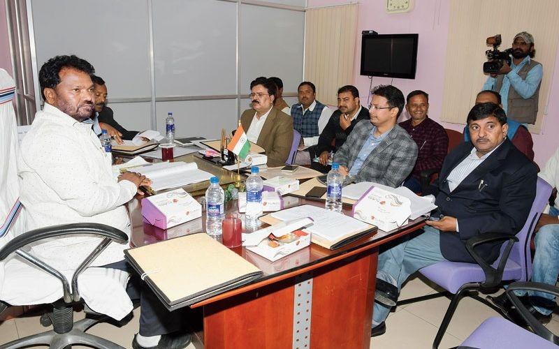 State education minister Jagarnath Mahto State education minister
