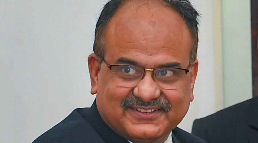 Finance secretary Ajay Bhushan Pandey