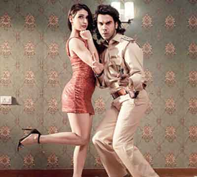 Fatima with Rajkummar Rao in Ludo