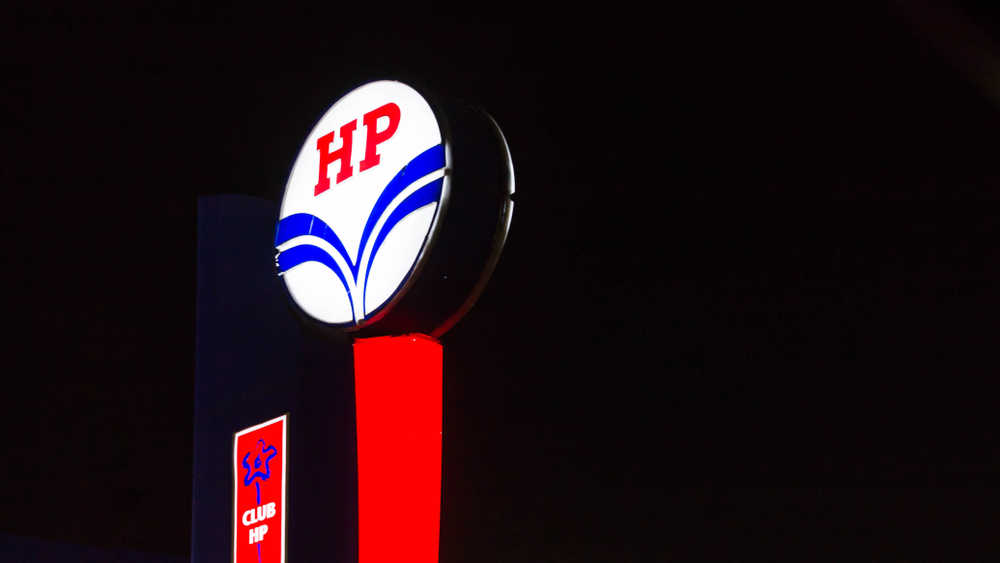 HPCL is the nation's third-biggest oil retailer after Indian Oil and Bharat Petroleum.