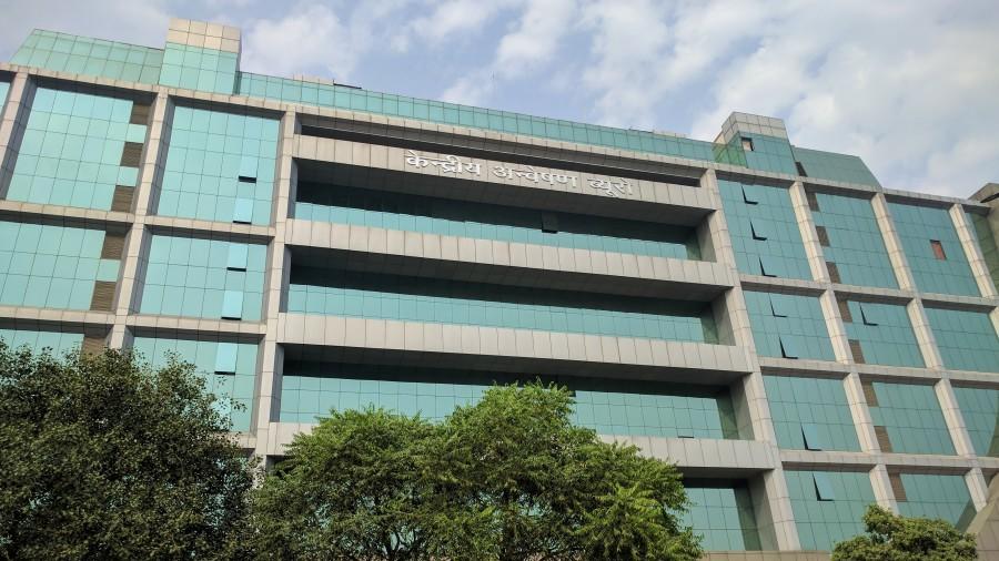 The CBI headquarters in New Delhi.