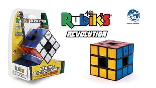 An electronic product called Rubik's Revolution is launced in 2007.
