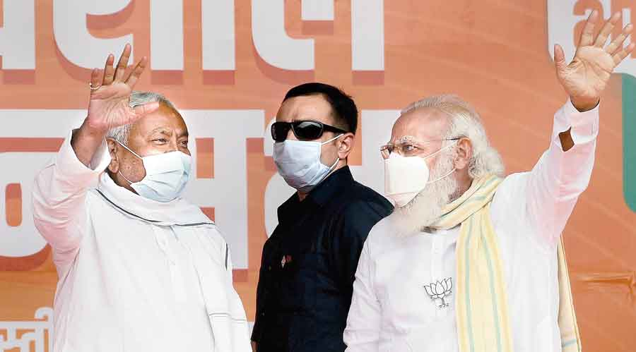 BJP trumps ally, fights for top slot