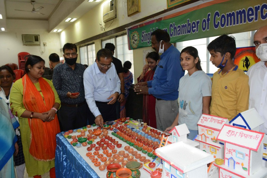The fair, organised by Singhbhum Chamber of Commerce and Industry in Jamshedpur, started on Wednesday
