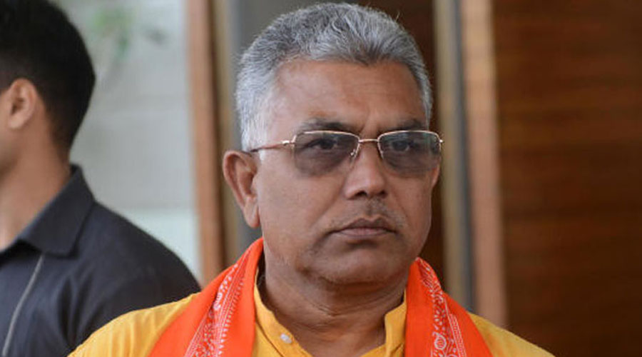 """This was bound to happen,""Dilip Ghosh, the party's state president, said about Adhikari's resignation on Friday. ""This is the beginning of Trinamul's end,"" he added."