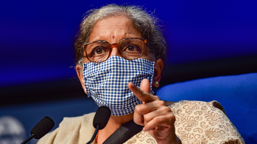 FM Nirmala Sitharaman Says Indian Economy Shows 'Strong Recovery'