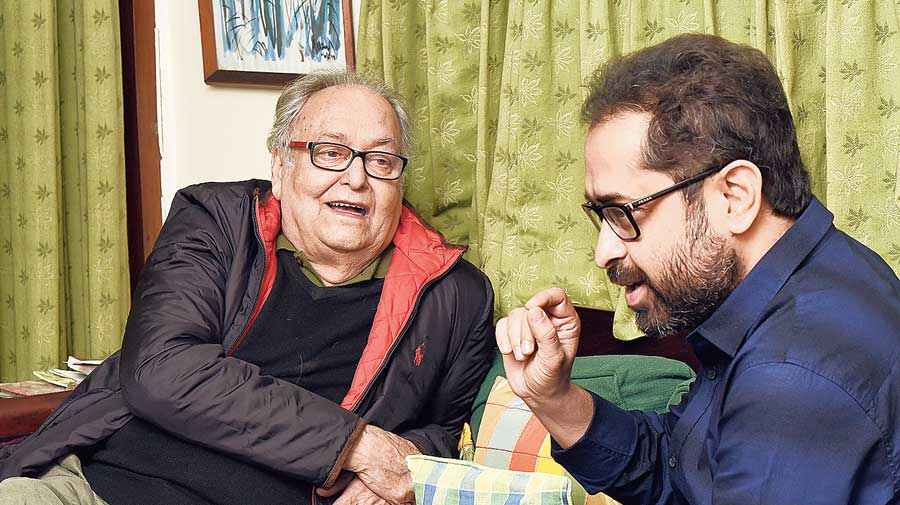 Soumitra Chatterjee and Suman Ghosh