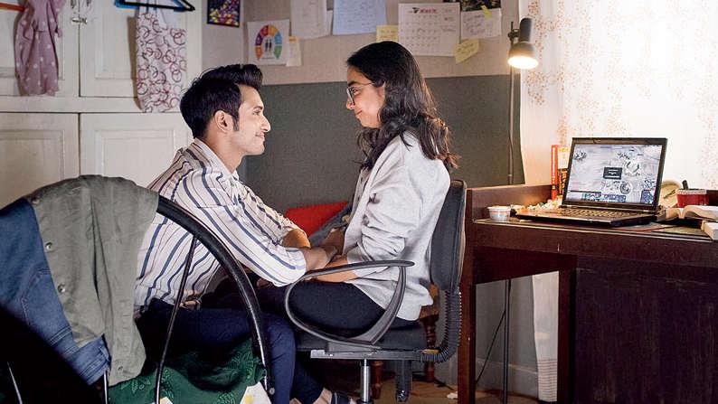Prajakta Koli and Rohit Saraf in Mismatched, streaming on Netflix this Friday.