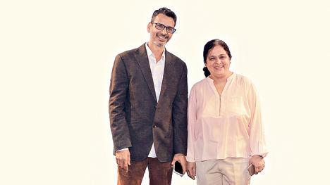 Metamagics Computing co-founders Anita Kulkarni Puranik and Atul Saraf.