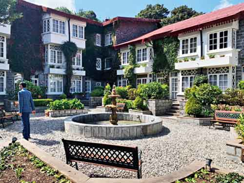 Sitla is a really stunning boutique hotel with 11 large suites  overlooking a 40-acre estate of apple orchards and cedar forest