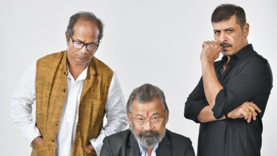 Chandan Sen, Shantilal Mukherjee, Sudip Mukherjee in director Shekhar Ghosh latest film