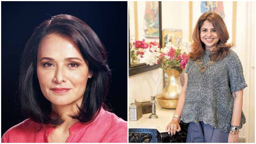 Amala Akkineni and Elahe Hiptoola shared their stories at a Ladies Study Group meet