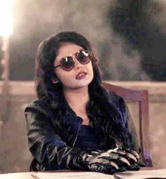 Saayoni Ghosh in RRS 1